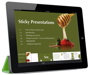 Sticky Presentations by Ang Tian Teck. A uniquely different approach to presentation design and delivery.